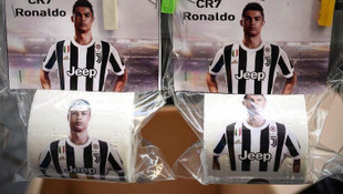 Napoli'den Ronaldo'lu tuvalet kağıdı !