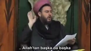Adnan Oktar'a ''Asa'' hediye eden Nakşibendi şeyhi Oktar'a küfür etti