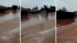 Baraj suları 6 köyü yuttu: En az 100 kişi kayıp