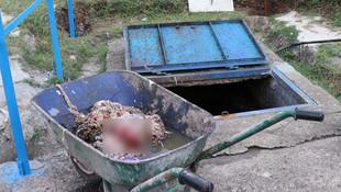 Kanalizasyonda 2. kez cenin bulundu