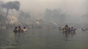 Yunanistan'daki korkunç yangınla ilgili dikkat çeken Türkiye iddiası
