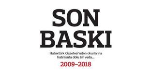 Habertürk Gazetesi böyle veda etti