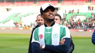 Konyaspor'da Samuel Eto'o krizi
