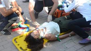 Genç şarkıcı kaza yaptı !
