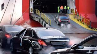 ABD'den ithal edilen otomobiller