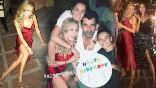 Sinem Kobal'a sürpriz doğum günü partisi