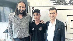 Filistinli genç futbolcu Beşitkaş'ta !