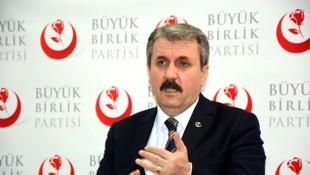 Mustafa Destici: ''Dolar şakşakçıları vatandaşlıktan çıkarılsın''