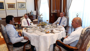 Erdoğan ile Katar Emiri'nin görüşmesinde dikkat çeken detay