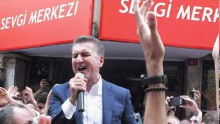 Mustafa Sarıgül'den miting gibi bayramlaşma töreni