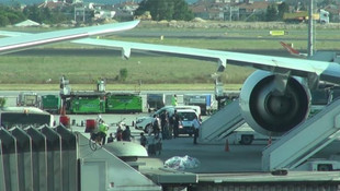 Uçak tuvaletinde bunu yaptı, bin 717 TL ceza kesildi