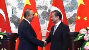 Bakan Çavuşoğlu Çinli mevkidaşıyla görüştü