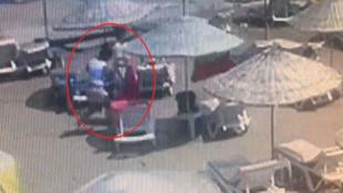 Plaj hırsızları tutuklandı