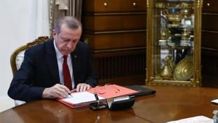 Erdoğan'dan görevden alma ve atama kararı !