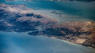 İşte uzaydan İstanbul paylaşımı... Astronot yayınladı
