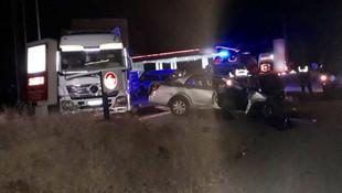 3 kişinin öldüğü kaza güvenlik kamerasında