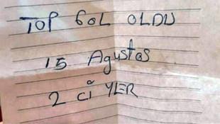 HDP'li başkanın cebinden çıkan not şoke etti