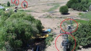 Kaçak elektrik tespiti için artık ''drone'' kullanılıyor