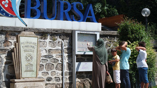Bursa'daki otelleri turistler doldurdu !