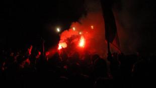 Lazio taraftar grubundan skandal paylaşım