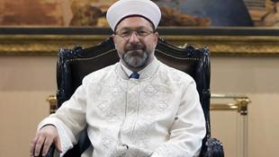 Diyanet İşleri Başkanı Erbaş'tan bayram mesajı