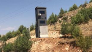 Zırhlı güvenlik kuleleri ilk kez görüntülendi