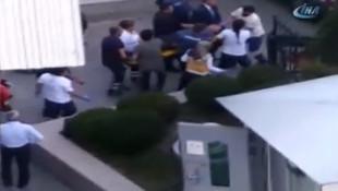 MHP Genel Merkezi önünde polis vuruldu