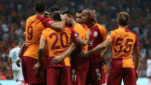 Galatasaray gol yağdırdı: 6-0
