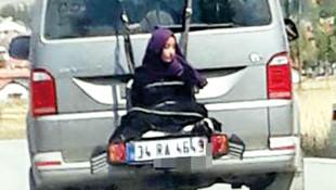 Çankırı'da trafikte çekilen skandal görüntüye gözaltı