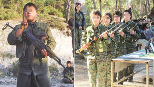 PKK çocuklardan kendisine ordu kurdu