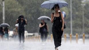 Bu illerde oturanlar dikkat ! 18 il için yağış uyarısı