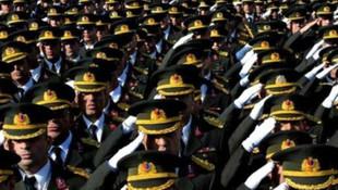 121 general ve amiralin ataması yapıldı