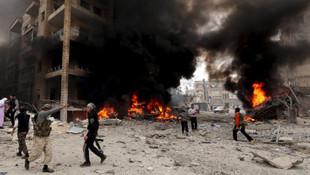 Esad İdlib'te çocukları vurdu