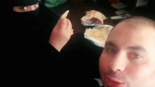 Mısırlı adam Suudi kadınla birlikte... Gözaltına alındı !
