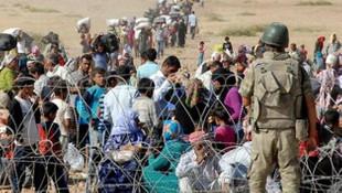 TSK'dan sınırda ''mülteci'' nöbeti