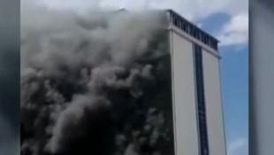 Ankara'da öğrenci yurdunda yangın