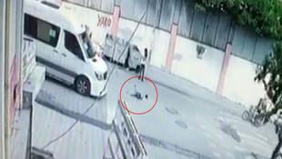İstanbul'da dehşet ! Çocuğa çarptı, arkasına bakmadan kaçtı