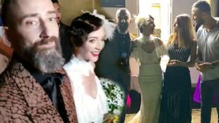 Yunus Günçe ile Işık Selin Kuyumcu evlendi