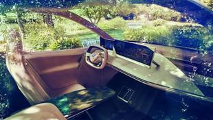 BMW'nin geleceğin otomobili ilk kez görüntülendi