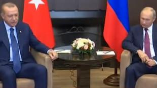 Gözler Rusya'da... Erdoğan-Putin görüşmesi başladı