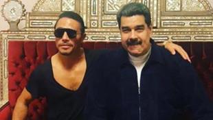 Etçi Nusret'te yemek yiyen Maduro'ya tepki yağdı