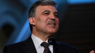 Abdullah Gül'ün adı oradan kaldırıldı