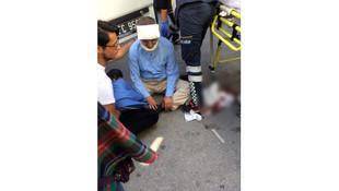 Özcan Yeniçeri trafik kazasında yaralandı