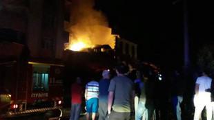 Ahşap evde yangın faciası: 2 çocuk öldü