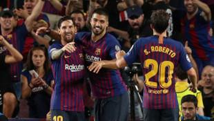 Messi coştu, Barcelona farka koştu !