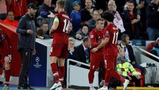 Gol sonrası Salah'tan olay hareket !
