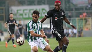Bursaspor - Beşiktaş: 1-1