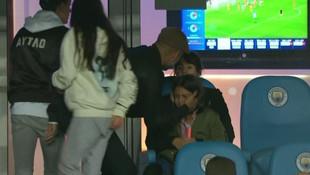 Guardiola'nın kızı gözyaşlarına boğuldu