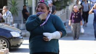 İsyan ettiren olay ! İşitme engelli kadını dövüp kolunu kırdı