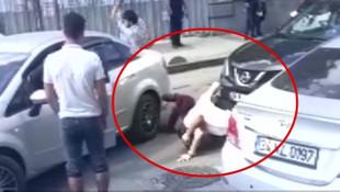 İstanbul'da inanılmaz kavga ! Kadın ve erkek sürücüler birbirine girdi
